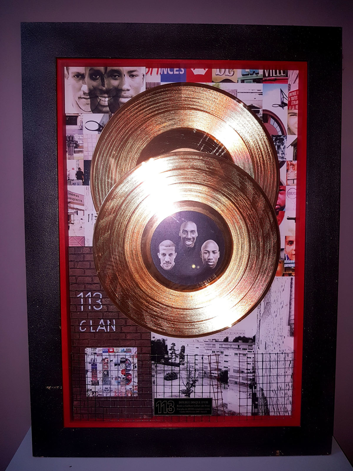 Double Disque d'or 113 CLAN